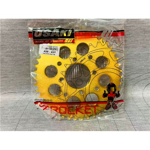 Osaki Revo Lucky Gold Sprocket Set Raider 150 Nbreed Reborn
