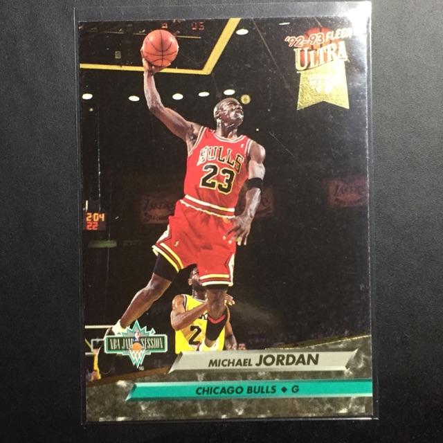 MICHAEL JORDAN 1992-93 FLEER ULTRA Chicago Bulls
