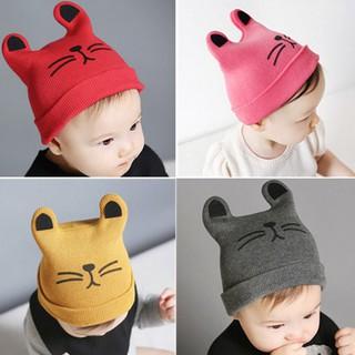 3e968ae1 Newborn Infants Baby Girls Boys Cute Warm Winter Cat Beanie Hat Knitted Cap  Hats SURF