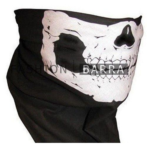 Cool Tubular Skull Ghosts Mask Bandana Motorcycle Biker Scar | Shopee Philippines