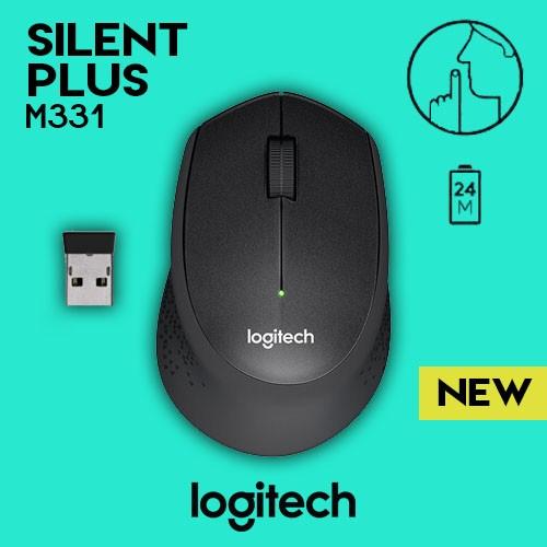 a0912abbcb7 Logitech M331 Silent Plus Wireless Mouse | Shopee Philippines