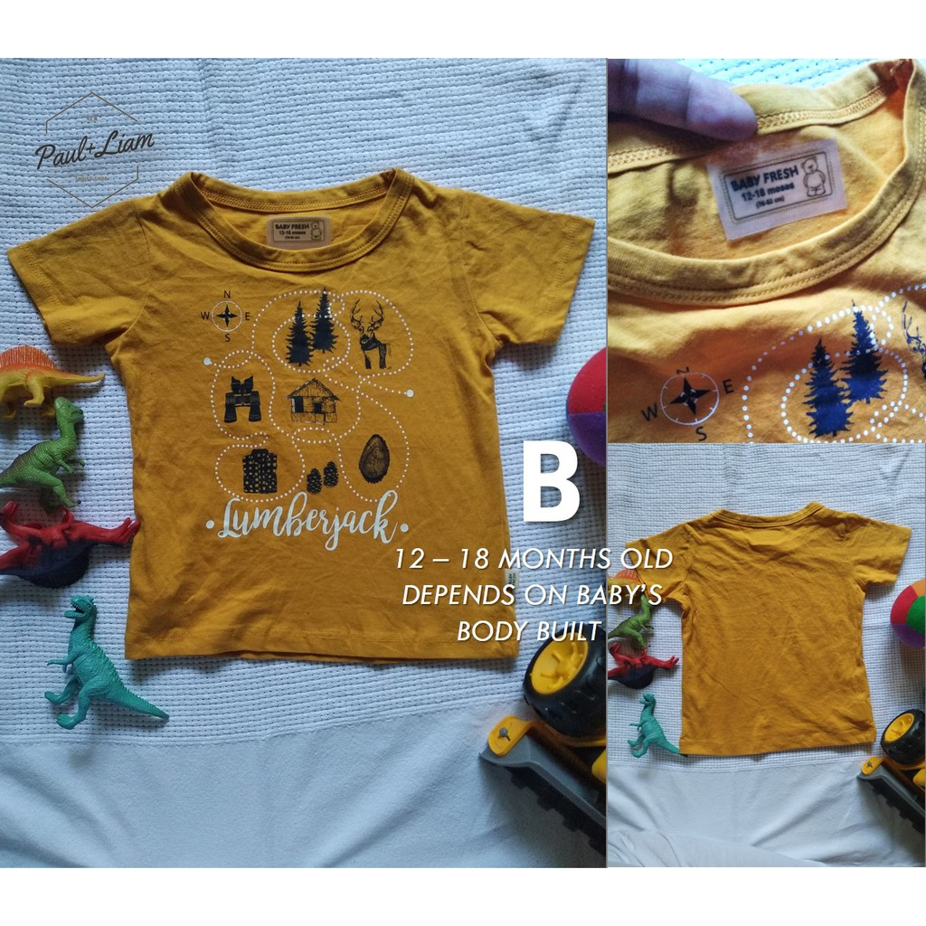 88d0e34f3 ProductImage. ProductImage. Baby Fresh Shirt - (Original) PRELOVED