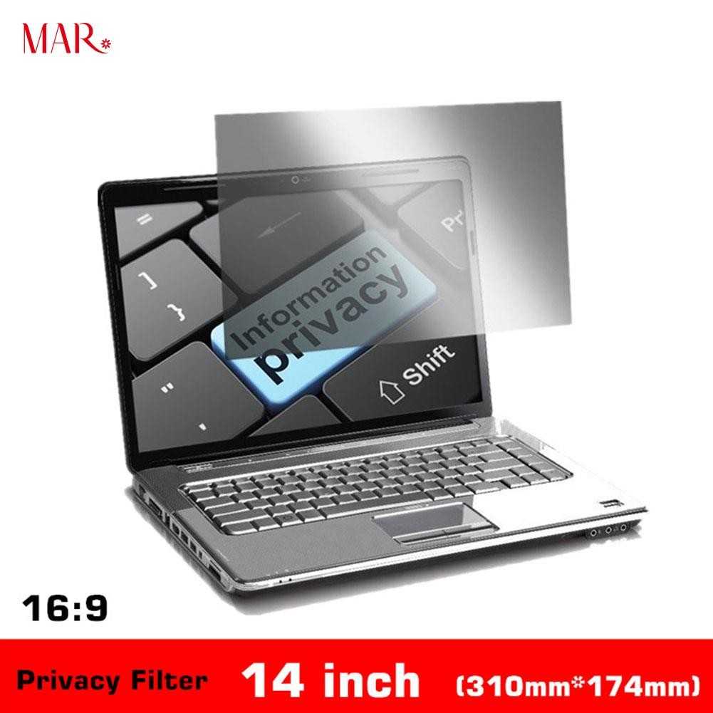 14 Inch privacy filter anti spy screens protective film for 16:9 laptop Jz