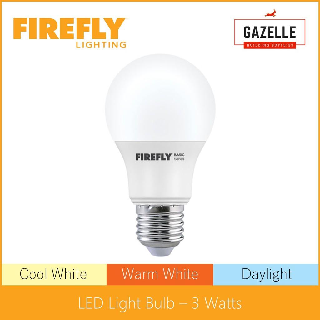 Firefly Basic Series Led A Light Bulb 3 20 Watts Shopee Philippines