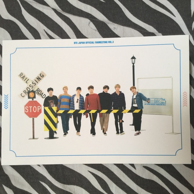 BTS Fanmeeting Vol 3 Group Photocard