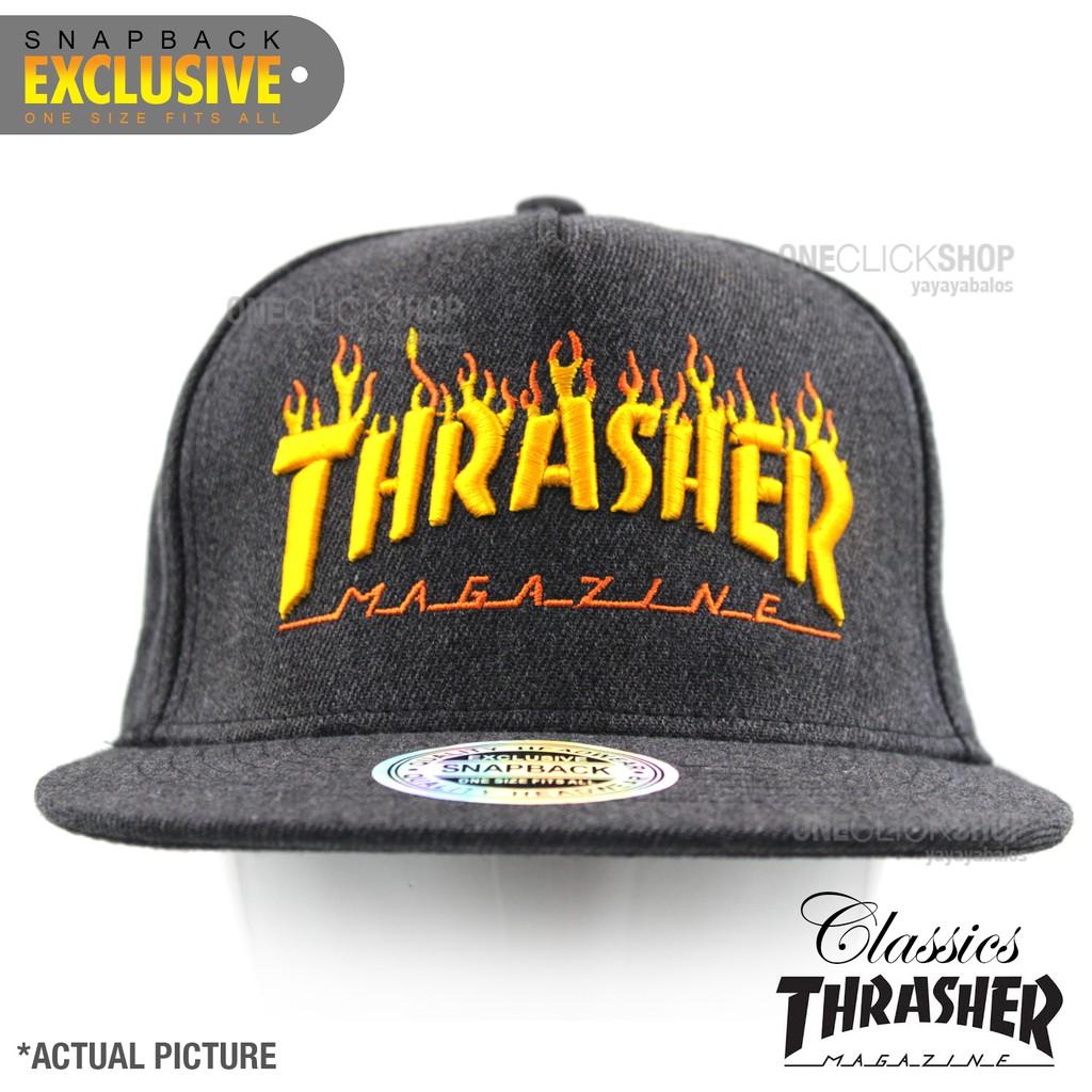 1da6e4adc9b Thrasher HUF Worldwide Boarding Sports Snapback Cap