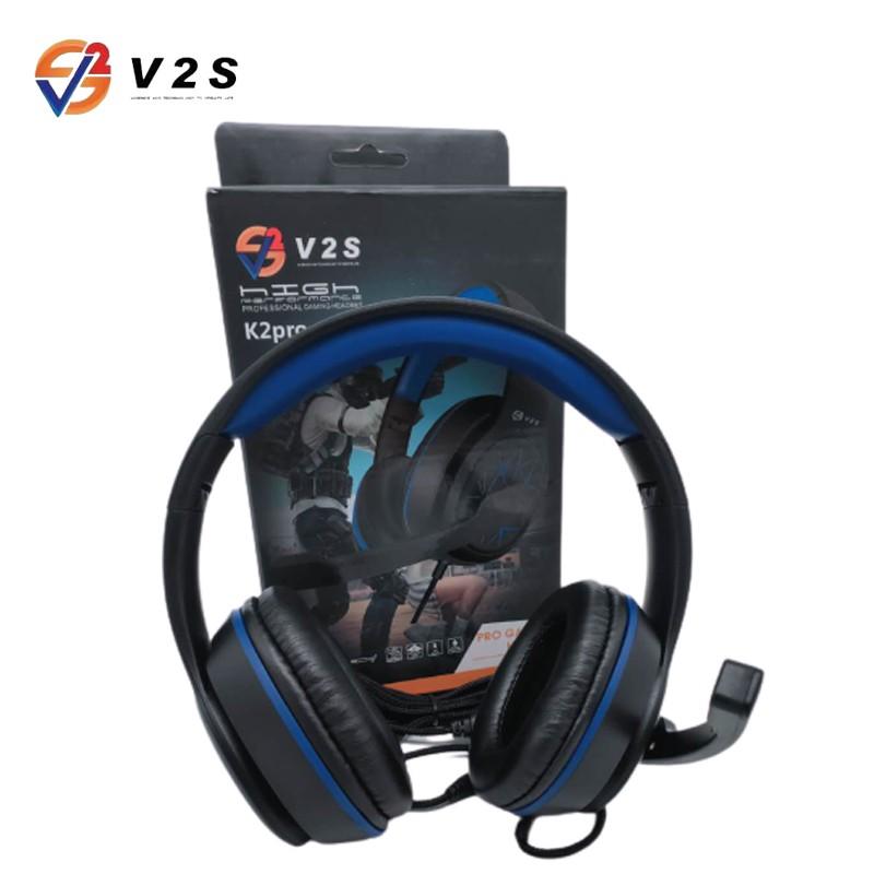 V2S K2Pro Headphone Stereo-bass Game Headset | Shopee Philippines