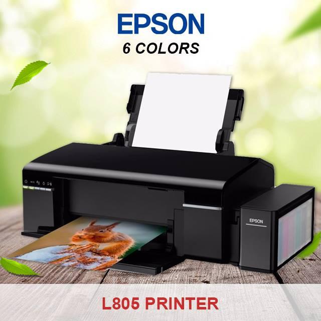 EPSON L805 PRINTER A4 SIZE (6COLORS) WIFI READY