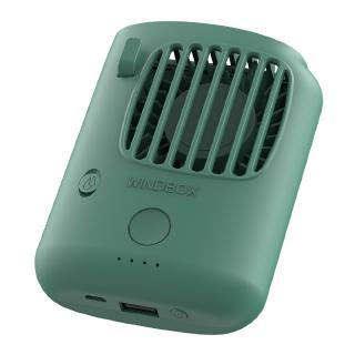 Convenient Portable 3 Speed Electric Fan Desktop Hanging Waist ABS Pocket with Bracket Durable