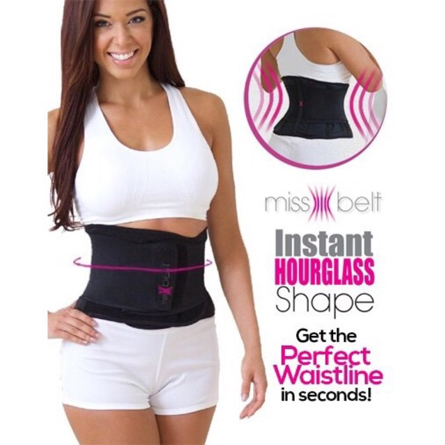308511516e 🔴COD INSTANT HOURGLASS shape Miss Belt corset waist trainer ...