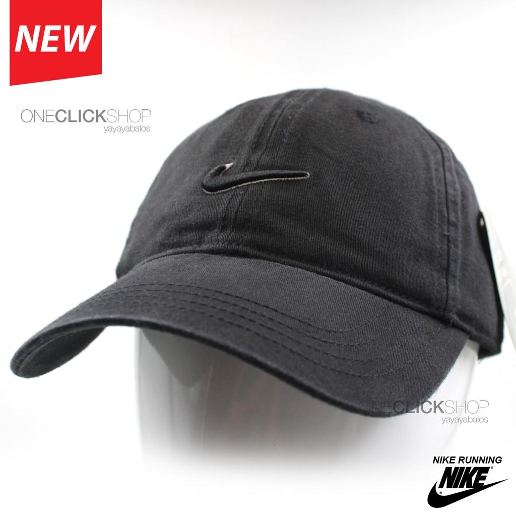 c4f42fed823 Cap Nike Running Cap Swoosh Sports Natural Curve Bill Cap