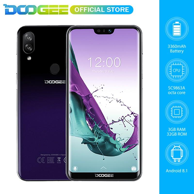 DOOGEE N10 3GB RAM 32GB ROM Android 8 1 Bezel-less 5 84
