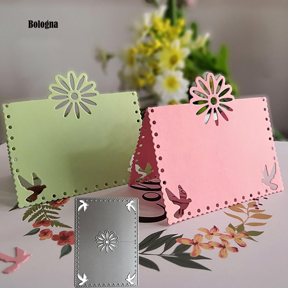 DIY Envelope Flower Cutting Dies Stencil Scrapbooking Album Paper Card Craft