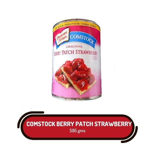 Comstock Strawberry Pie Filling And Topping Duncan Hines 595g Shopee Philippines