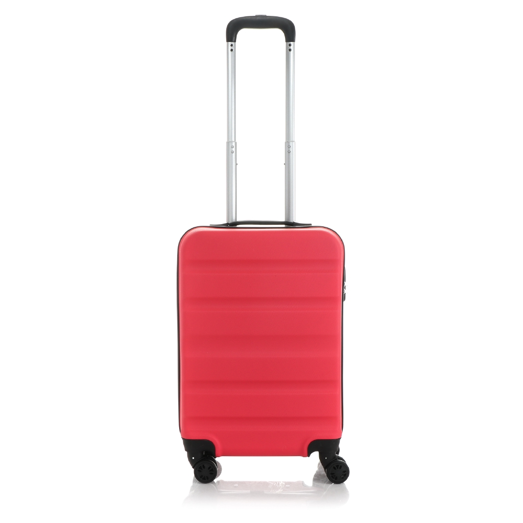 7e492f59e4a5 Travel Basic Ciao Clyde 20-Inch Small Hard Case Luggage in Pink