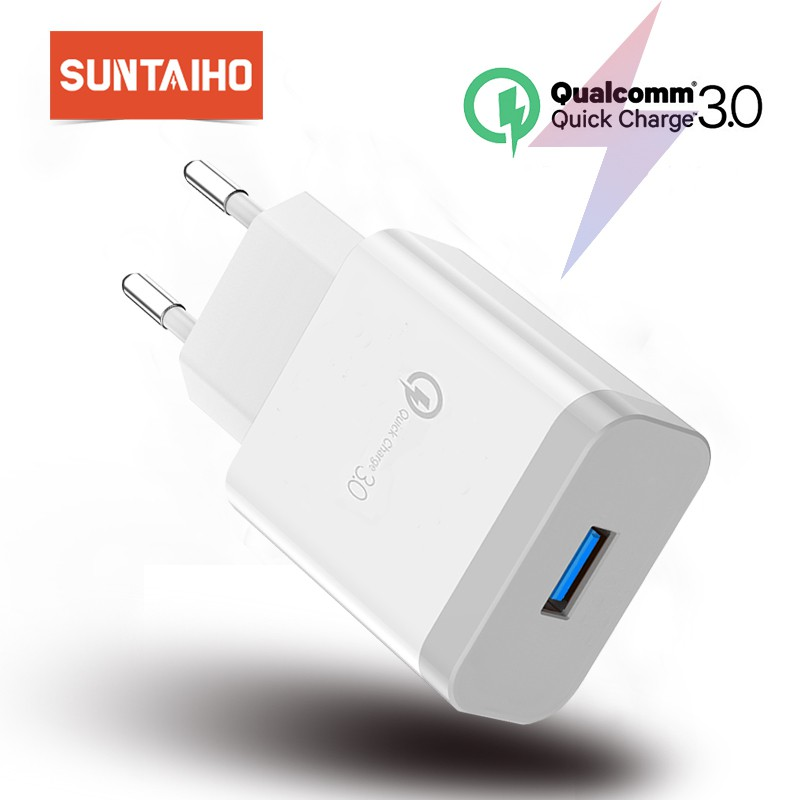 Suntaiho Quick Charge 3 0 USB Fast Charging Adapter charger