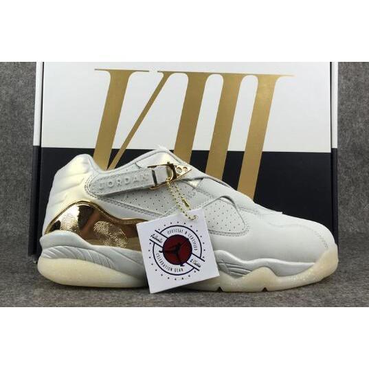 half off 0368d 1ce50 LKS 2018 Air Jordan 8 Low Champagne