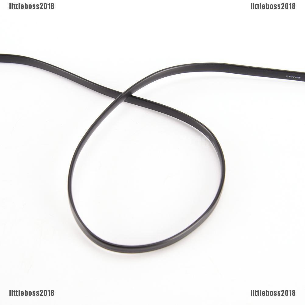 1-meter Six-pin RJ12 Flat Phone Line 6P6C Green Copper 6-PIN Phone Line HI