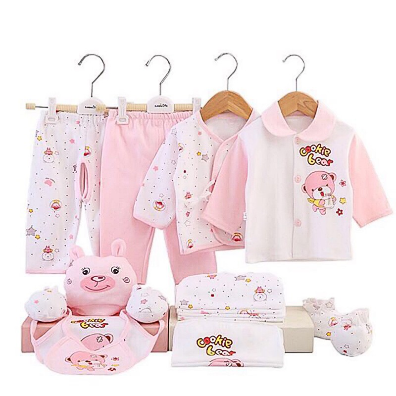 a1a07aa085b 17pcs Set Newborn Baby Clothes Infants Clothing | Shopee Philippines