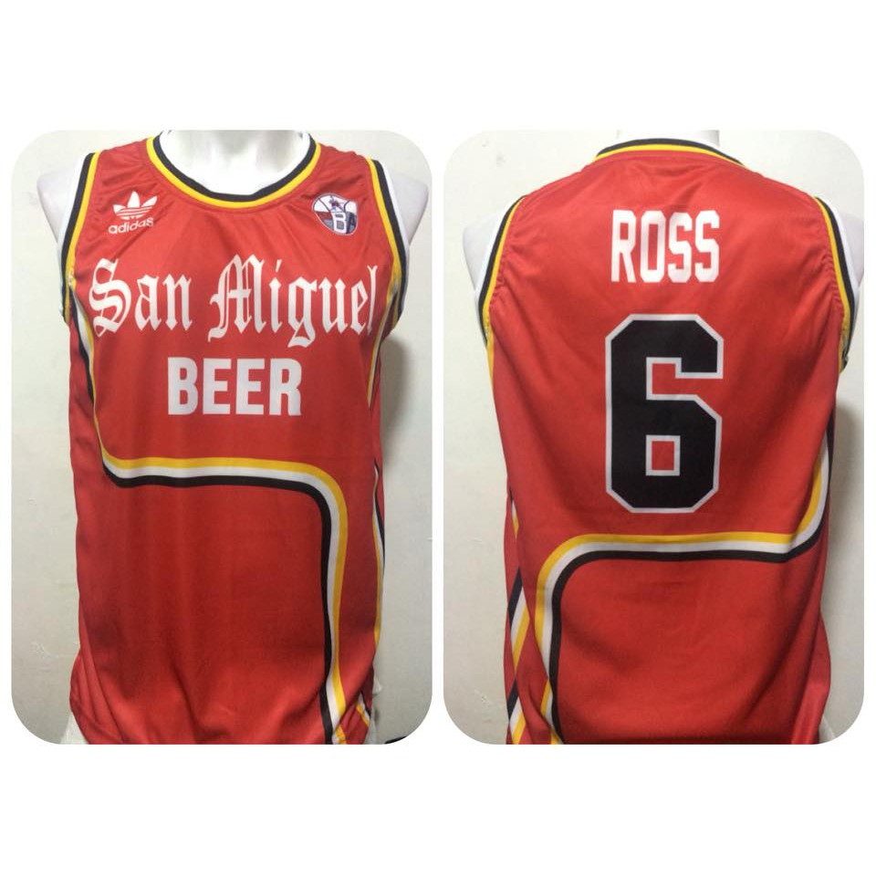 91ca367eb15 San Miguel Beer 3 Lines Retro Full Sublimation Jersey. | Shopee Philippines
