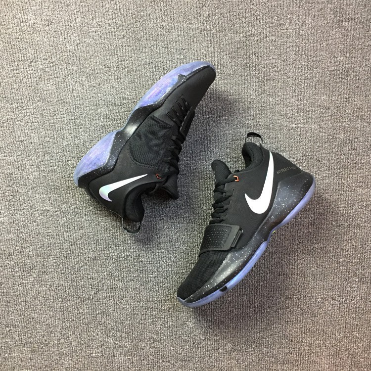 promo code 45281 c33a7 real picture PAUL GEORGE PG 1 EP black out BHM mens sport cod nike  basketball shoes