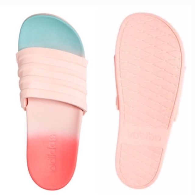 533f2f76d1e8 Adidas Coral Foam Ombre Slides Size 37-40