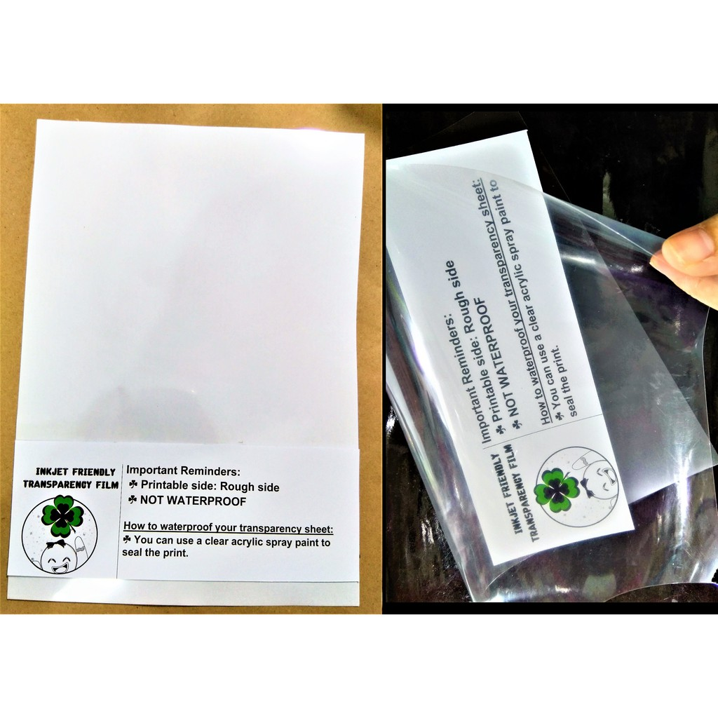 It is a photo of Nifty Printable Acetate