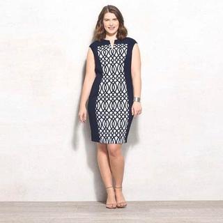 """1891"" cutie plus size dress (fit to XL)"