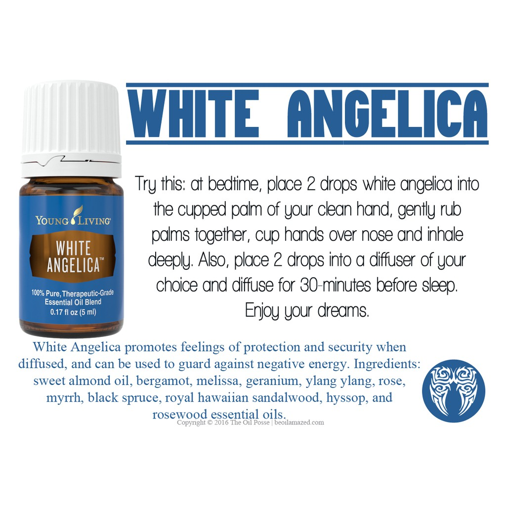 Authentic Sealed Young Living Pure White Angelica Essential Oil Blend Shopee Philippines