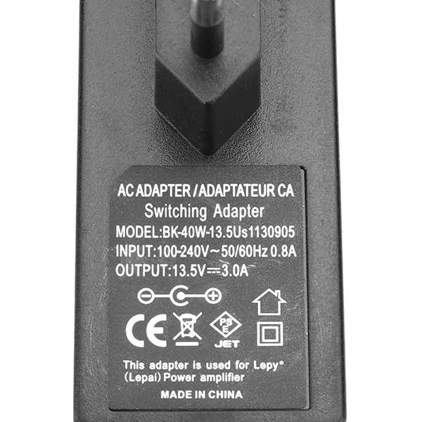 Lepy 12V3A Output Switching Power Adaptor for Amplifier