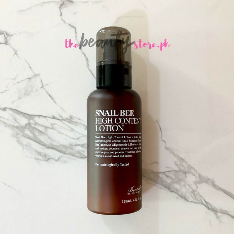 [BENTON] Snail Bee High Content Lotion - 120ml | Shopee Philippines