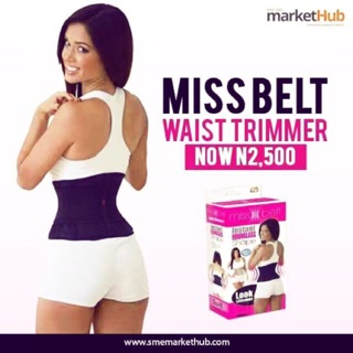 6299482158 Miss Belt Instant Hourglass Shape