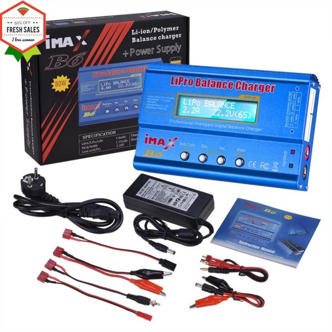 High Quality iMAX B6 LCD Screen Digital RC Lipo NiMh Battery Balance Charger