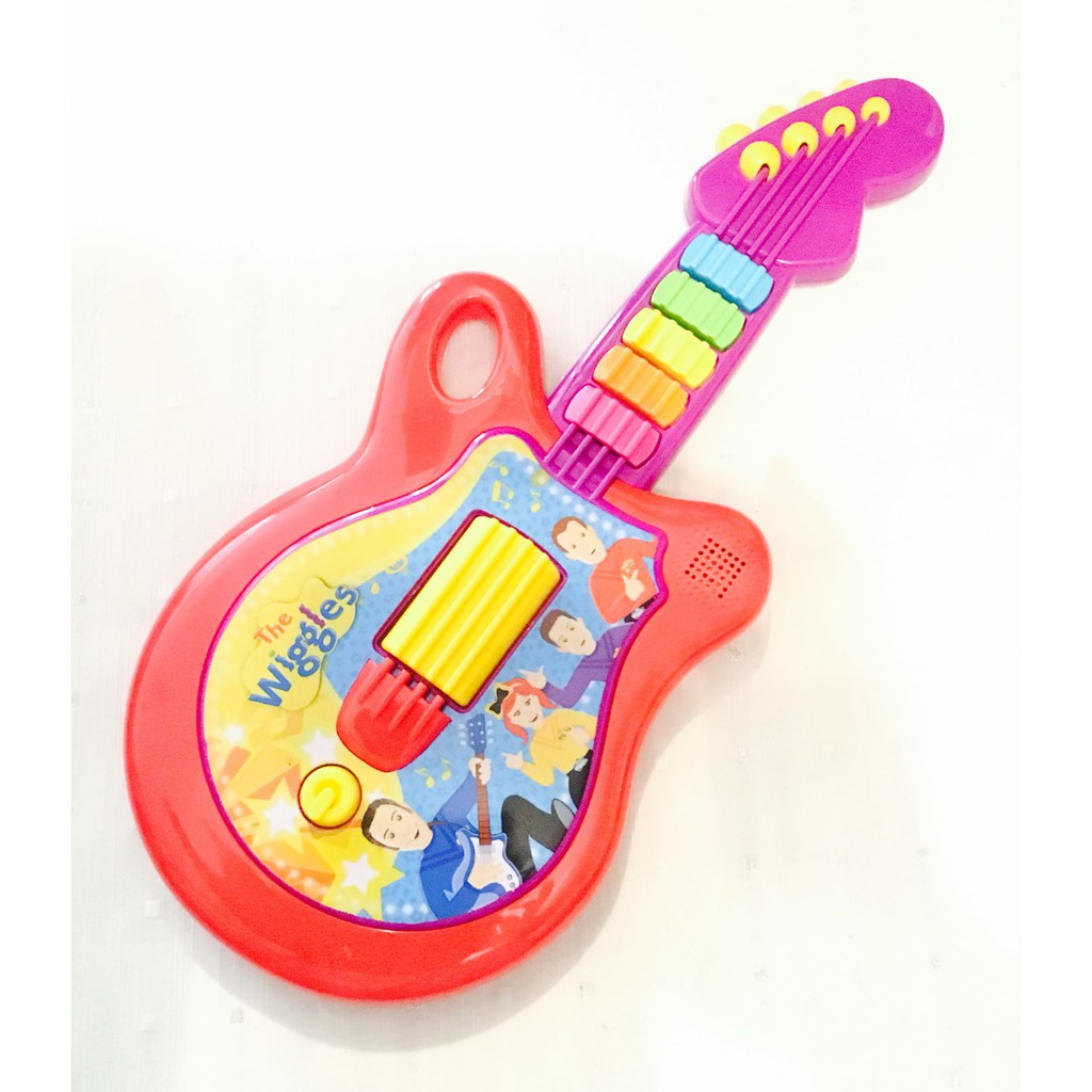 The Wiggles Authentic Electronic Toy Guitar Emma Lachy