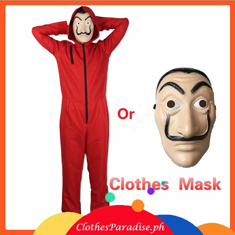 Money Heist The House of Paper La Casa De Papel Salvador Dali Adult Kids  Cosplay COSTUME MASK