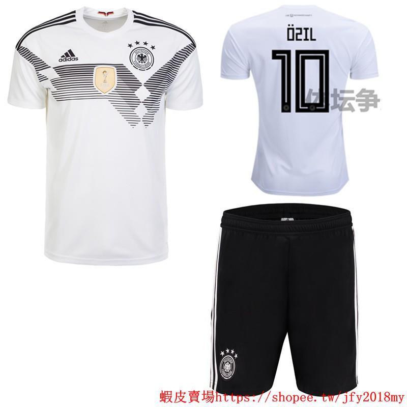 the latest adfbf fd760 2018 World Cup Boys Germany National Team NO.10 Ozil Home kit away kit Kids  Football Jersey