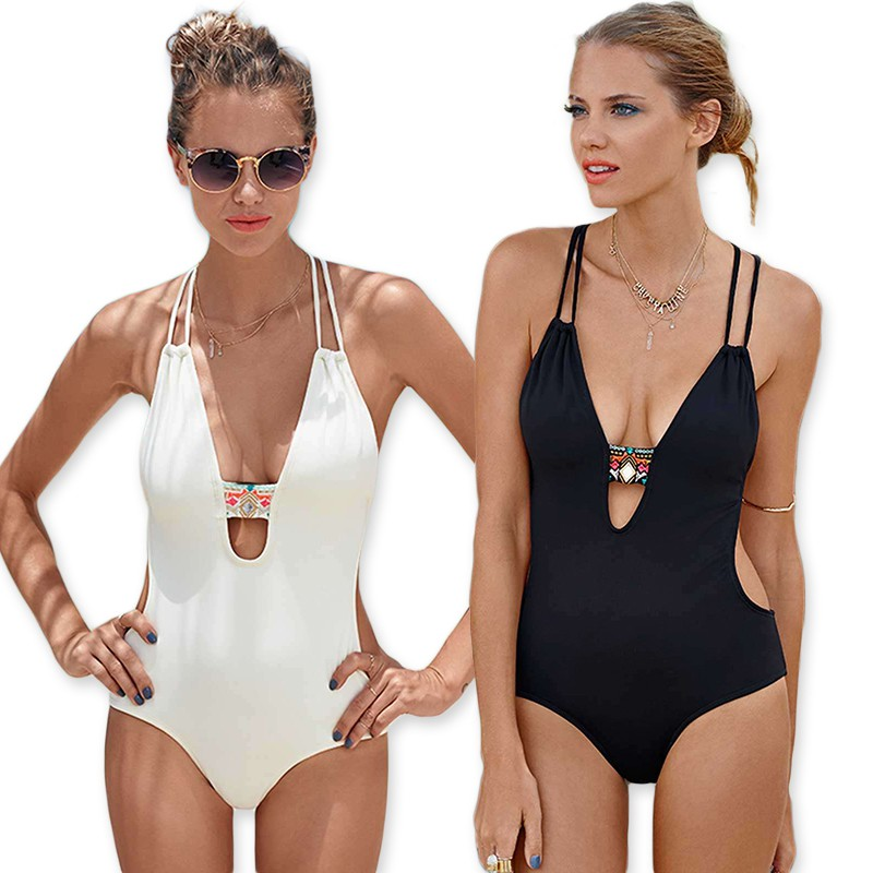 07f5173fcb449 PRA-2018 New Fashion Sexy Women Bikini One-Piece Bathing