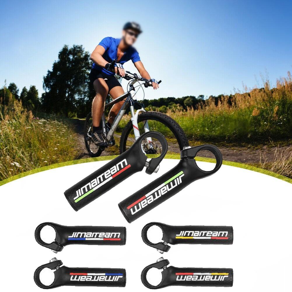 Details about  /JIMAITEAM Handlebar MTB Mountain 22.2MM Ends Grips Bar Bike Carbon fiber Durable