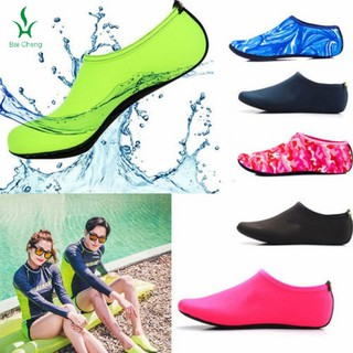2e2a29539838 2x Swimming Diving Socks 3mm Low Cut Snorkeling Water Shoes | Shopee ...