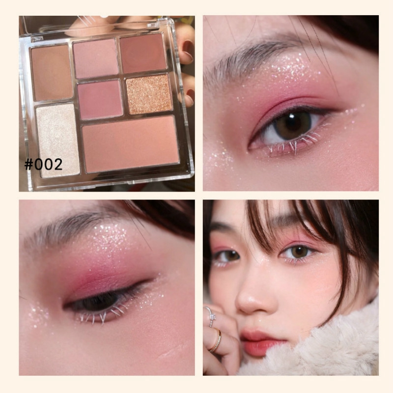 Cvz Makeup 7 Color Eyeshadow Palette