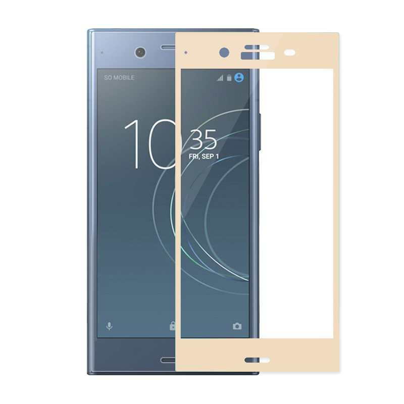 low priced d4120 5d28d For Sony Xperia XZ1 Anti-scratch Full Cover Tempered Glass Film 3D Curved  LMNL