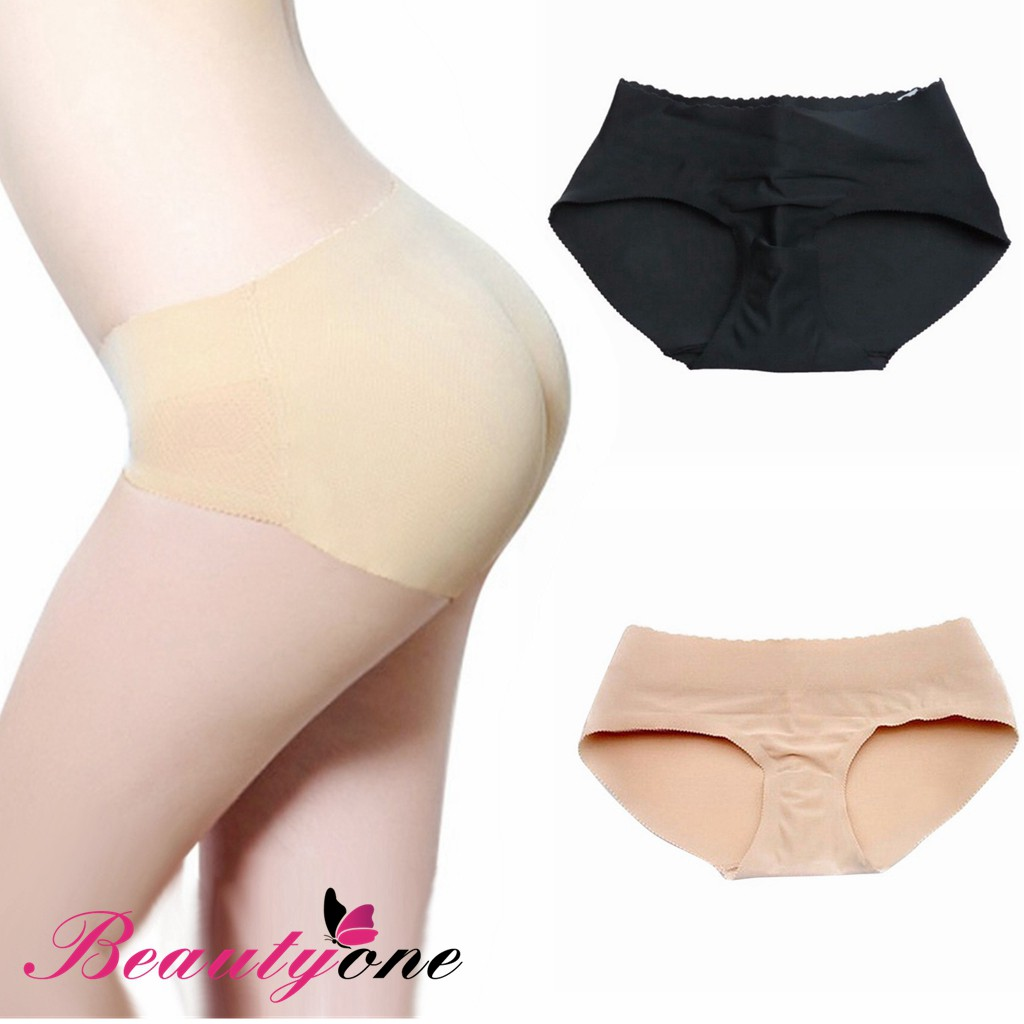 a8ed3482094 Women High Waist Padded Panties Butt Hip Enhancer