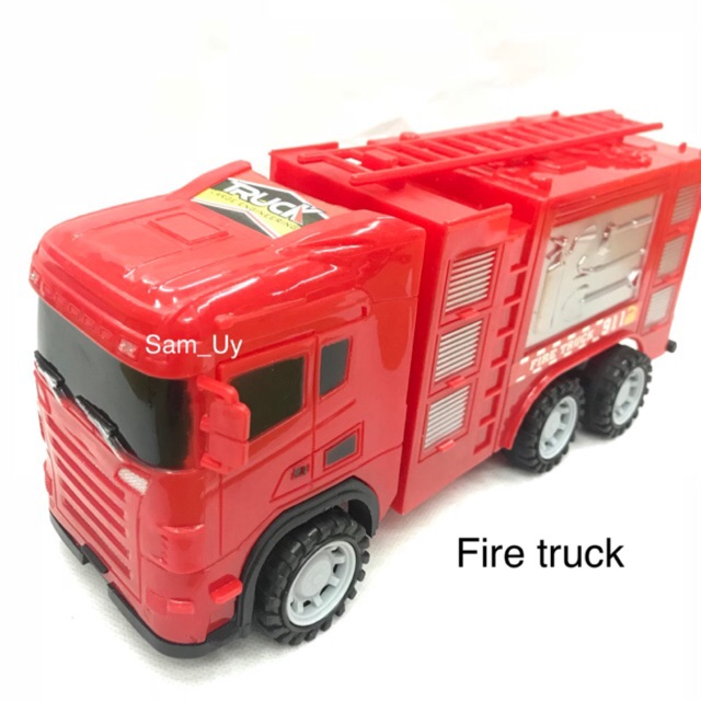 Fire truck and fire truck w/ lift ordinary friction truck