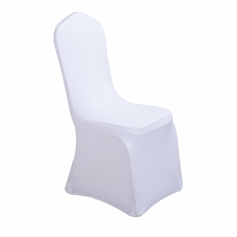 Excellent Chair Coverthickened White Stretch Chair Set Banquet Conference Hotel Celebration Wedding Seat Pabps2019 Chair Design Images Pabps2019Com