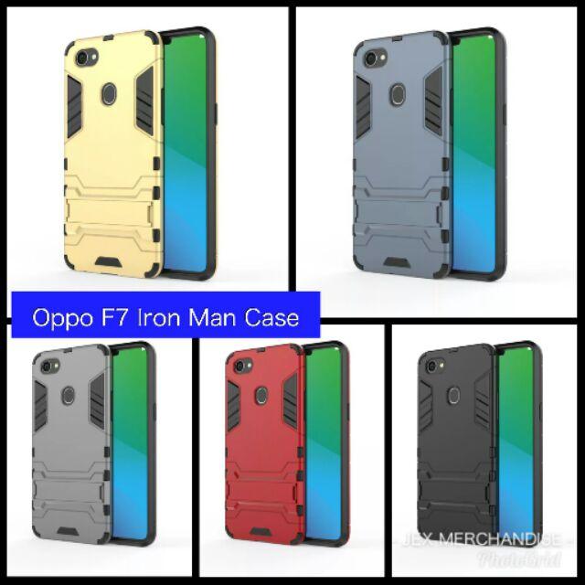 promo code 24183 3bd07 Oppo F7 Iron Man Case