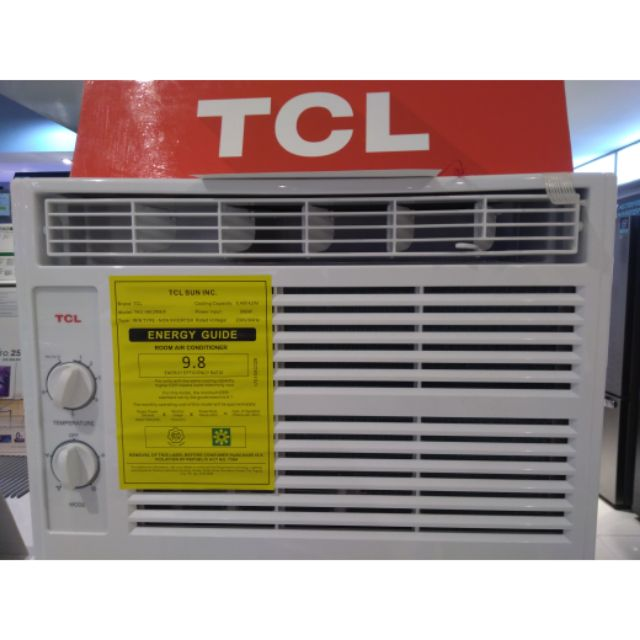 🔥Tcl manual window type aircon  6hp 1hp 1 5hp
