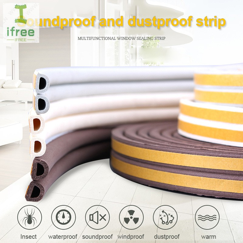 Black Rubber Seal Trim Strip Decorative Anti-ageing Durable Soundproof