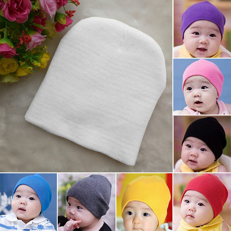 5bebb583c6cba ProductImage. ProductImage. BNB Newborn Baby Unisex Toddler Infant Boys  Girls Beanie Hat ...