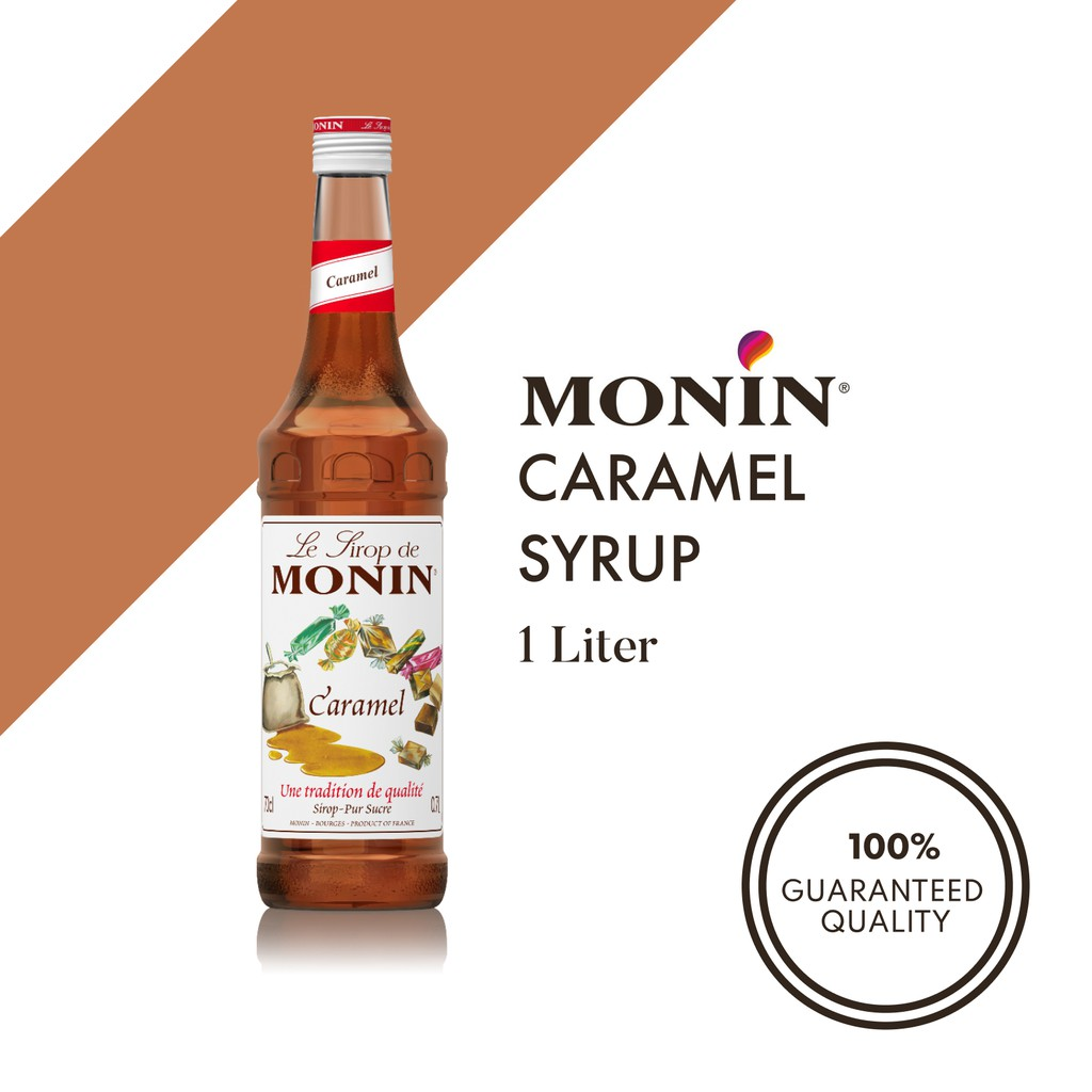 Monin Caramel Syrup 1l Shopee Philippines