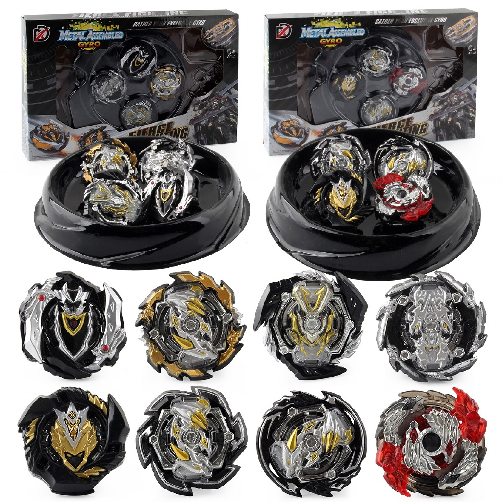 Ast Hot Sale Tops Set Launchers Beyblades Xd168 30 Limited Black Warrior Toys Spinning Top Metal God Burst Top Bey Blade Blades Toy Bay Blade Bables Shopee Philippines